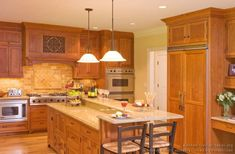 Custom cabinets, custom cabinetry, custom kitchens made for your home by Crown Point Cabinetry Kitchen Pictures, Kitchen Ideas, Kitchen Colors, Kitchen Designs, Crown Point Cabinetry, Light Wood Kitchens, Wood Kitchen Cabinets, Kitchen Backsplash, Custom Kitchens