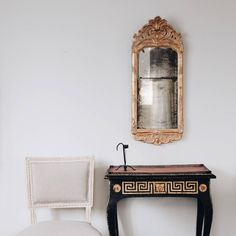 18th Century Swedish Rococo Giltwood Mirror   From a unique collection of antique and modern wall mirrors at https://www.1stdibs.com/furniture/mirrors/wall-mirrors/
