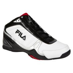 Fila Mens Athletic Shoes Basketball DLS Game Ball White Black red size 7 NEW  36.99 http://www.ebay.com/itm/Fila-Mens-Athletic-Shoes-Basketball-DLS-Game-Ball-White-Black-red-size-7-NEW-/253121061290?ssPageName=STRK:MESE:IT