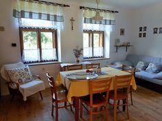 Rustikální obývací kuchyně
