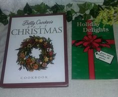 Betty Crockers Best Christmas Cookbook Recipes Hardback Holiday Delights books #BettyCrockers