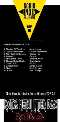 Kat's Metal Litter Box Release First Top 10 Chart to Radio Indie Alliance –…