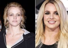 Britney Spears - Celebrities Without Makeup