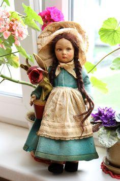 Lenci антикварная кукла