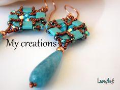 Le mie creazioni:tessitura perline-soutache-uncinetto|My creations:weaving beads-soutache-crochet