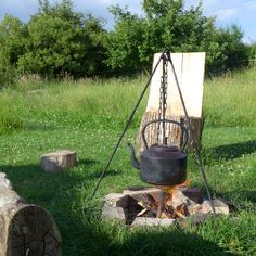 www.gypsycaravanbreaks.co.uk  Cook on the campfire