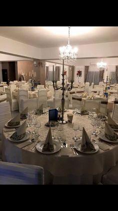Restaurant, Table Settings, Chandelier, Ceiling Lights, Lighting, Travel, Home Decor, Twist Restaurant, Homemade Home Decor