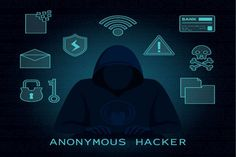 Anonymous hacker concept with flat design , Blackhat Hacker, Pc Network, Design Plat, Flat Design, Hacker Wallpaper, Star Wallpaper, Computer Hacker, Horror Photos, Brave Browser