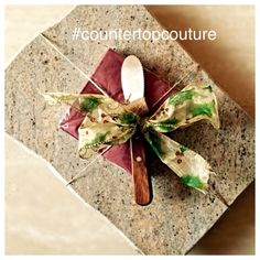 Up-Cycled Granite Cheese Board by CountertopCouture on Etsy