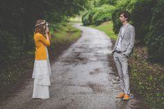 Esküvő a Mecsekben. Kicsu és Gergő története az eskuvovintage.hu oldalon Fotó: renifoto.com #esküvő #diy