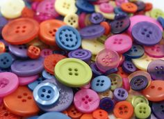 An Etsy site that sells buttons to make all the cute button crafts! $5.25 for 160!