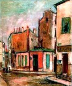 La Maison Rose, 1912, Utrillo