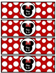 ... infantil on Pinterest | Minnie Mouse, Minnie Mouse Party and Fiestas