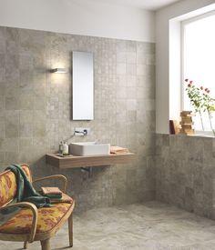 Carrelage imitation marbre, salle de bain, collection Alabastro Ascot sur www.moncarro.com