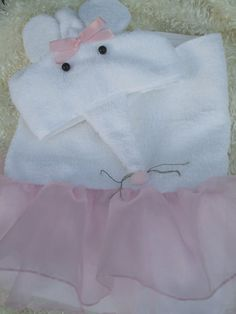 Personalized Angelina Ballerina Towel for Bath by TwoChicklets, $34.00