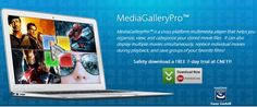 http://www.mediagallerypro.com/  MediaGalleryPro™ is a cross-platform multimedia player that helps you organize, view, and categorize your stored movie files.  It can also display multiple movies simultaneously, replace individual movies during playback, and save groups of your favorite films!  www.playmultiplevideosatonce.com