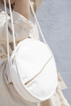 Lotfi Bags - Round cotton canvas bag
