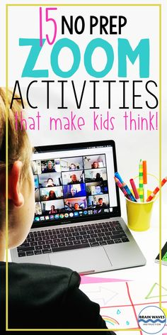 Zoom Activities and Games to Use with Distance Learning