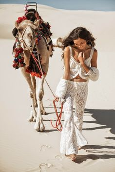 Rachel Rutt by Johnny Abegg for Spell & The Gypsy Collective Spell Designs White Dunes, Gypsy Hues Fall 2014 Lookbook ~ Styling & Art Direction: Elizabeth Briedis & Isabella Pennefather ~ Hair: Luciana Rose ~ Makeup: Ashlea Penfold ~ Fleetwood Vintage Lace Maxi Dress