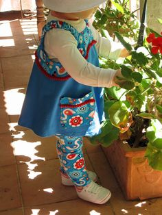 Special Deal Pop-Over Tunic PLUS Children's by FelicityPatterns