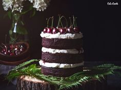Gluten free black forrest - Cat & Cook
