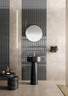 Layer your tiles vertically if you want your bathroom to appear taller. Order your free samples online by visiting our website. Background Tile, Splashback Tiles, Ceramic Wall Tiles, Terracotta, Door Handles, Ceramics, Mirror, Bathroom, Interior
