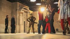 Doctor Who Extra takes a look at the making of Time Heist