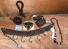 antique and costume jewellery for sale at heaths old wares and collectables with industrial antiques 12 station st bangalow nsw open 7 days 9 - 5 Vintage Jewellery, Costume Jewelry, Industrial, Costumes, Wallet, Chain, Antiques, Fashion, Antiquities