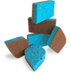 Pura Naturals Best Eco Sponges out of 5 stars Pura Naturals Ever-Fresh Cleaning Sponges Inhibit Bacteria. Eco Kitchen/Household/Dish Sponges w/Walnut Scrubbers. more durable. Kitchen Buffet, Kitchen Cupboards, Kitchen Ideas, Top 14, Kitchen Flooring, Kitchen Furniture, Storing Spices, New Kitchen Gadgets, Natural Sponge