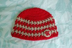 This is a modification of the pattern from The Laughing Willow. For adult size, see her original post .   Premie size here .  Newborn ...