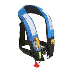 Premium Quality Manual Inflatable Life Jacket Lifejacket PFD Life Vest Highly Visible Inflate Survival Aid Lifesaving PFD NEW <3 Detailed information can be found by clicking on the VISIT button