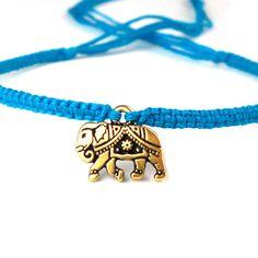 Gold Elephant bracelet
