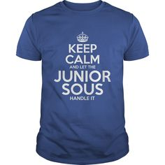 Awesome Tee For Junior Sous T-Shirts, Hoodies. ADD TO CART ==► https://www.sunfrog.com/LifeStyle/Awesome-Tee-For-Junior-Sous-112893604-Royal-Blue-Guys.html?id=41382