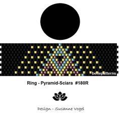 peyote ring patternPDF-Download 180R beading pattern