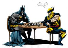 Wolverine Replaces Batman As Enzo Ferrari In Michael Mann's New Movie Batman Vs, Humor Batman, Comic Superman, Funny Batman, Dc Comics, Action Comics, Batman Comics, Funny Comics, Batwoman