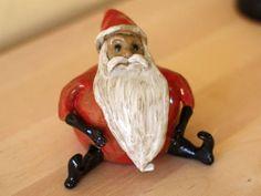 Ceramic Santa Man - POTTERY, CERAMICS, POLYMER CLAY