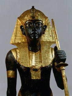 Ka Statue of Tutankhamun, c.1332-22 BC 18th Dynasty New Kingdom.