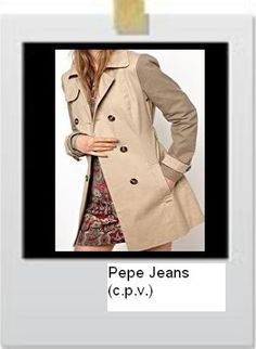 Lovely trench by Pepe Jeans