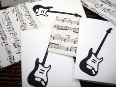 A personal favorite from my Etsy shop https://www.etsy.com/listing/67930534/upcycled-sheet-music-envelopes-with