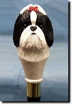 Shih Tzu Dog Walking Stick