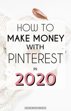 Want to know how Pinterest can help you generate thousands every month? Here's how you can start making money online today with Pinterest! #makemoney #pinterest #affiliatemarketing #blogging #pinteresttips #makemoneyonline Make Money Blogging, How To Raise Money, Make Money From Home, Way To Make Money, Make Money Online, Saving Money, Make Money From Pinterest, Blogging Ideas, How To Start A Blog