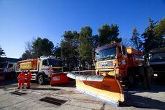 El viceconsejero de Transportes, Infraestructuras y Vivienda, Borja Carabante, visitó este jueves, 8 de enero, el centro de conservación de Carreteras de Collado Villaba