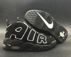 Newest 2018 Nike Air More Uptempo Black White - Mysecretshoes Kd Shoes 72ec789e5