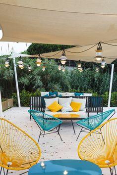 Terraza : Egzotyczny ogród od DyD Interiorismo - Chelo Alcañíz