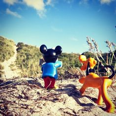 Mickey and Pluto in real life :)