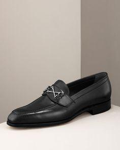 Best Foot Forward: Men's Shoes: Wolfe Loafer, Black by Barker Black