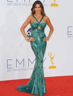 Premios Emmy 2012 - Alfombra Roja - Celebrities - Tendencias, glamour y celebrities - ELLE.ES