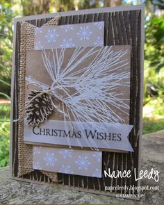 Canopy Crafts: Ornamental Pine for Merry Monday {MM133}