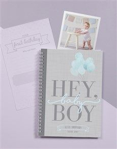 gifts: Personalised Babys First Year Journal! Personalized Baby Gifts, Personalized Stationery, Same Day Delivery Service, Best Baby Gifts, New Parents, Baby Names, Babys, Journal, Amazing