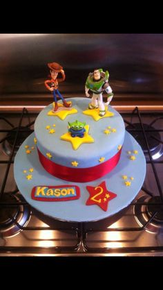 Toy Story inspired for my little Boy's 2nd Birthday.! X